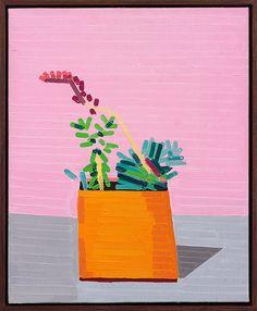 http://guyyanai.tumblr.com/ Yves ( For A.C ) 2015oil on linen in artist frame 39 x 32cm ( including frame )