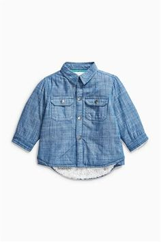 Buy Denim Shacket (0mths-2yrs) from the Next UK online shop