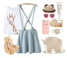"""""""Zoo Trip"""" by ndtika ❤ liked on Polyvore featuring MANGO, Bare Escentuals, Kate Spade, Christian Dior, Le Specs, Eve Lom, Aéropostale, women's clothing, women and female"""