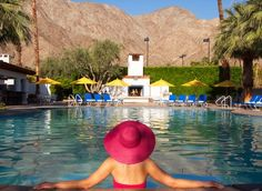 only 2 more weeks...that will be me, poolside at La Quinta Resort!
