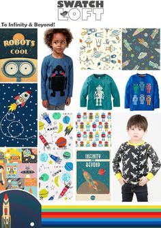 To Infinity And Beyond Boys Trend is all about robots, space and rockets and all things boy! So launch your little monster into out of space this season with this super cool trend taking inspiration… Read the full article »