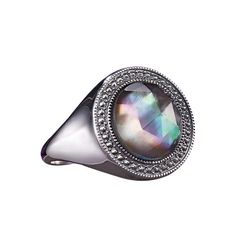 Sterling Silver Mother of Pearl Ring  http://youravon.com/kellyburke