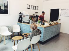 Programmers surely have a passion for coffee. A couple of IT guys from Vienna turned this place into an amazing coffee spot in the heart of the city. Great coffee experience and delicious banana bread.