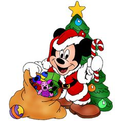 baby christmas clipart christmas mickey mouse cartoon christmas clip art christmas cartoons disney - Christmas Mickey Mouse
