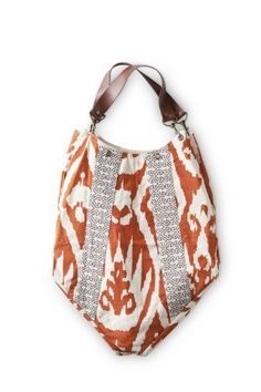 Rosanna Ikat Handbag Orange/Grey . We got this last year and this is the coolest bag. It can carry a LOT of stuff. BIg beach towels or whatever. Nice name too. Rosanna was my Mother's name.