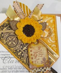 Sunny corner bookmark by cbuswell - Cards and Paper Crafts at Splitcoaststampers