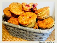 Muffins, Recipies, Cooking Recipes, Cupcakes, Brunch, Breakfast, Health, Desserts, Food