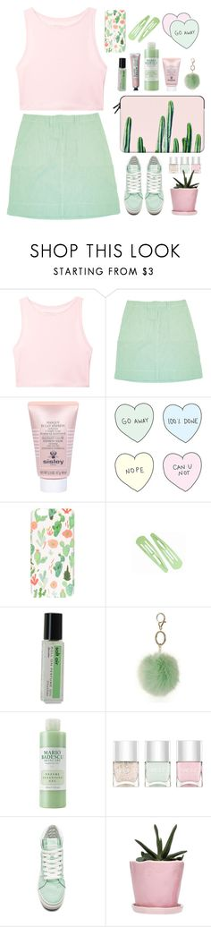"""When the sun dies on my aunt's garden"" by agonyfeelsgood ❤ liked on Polyvore featuring Victoria's Secret, Sisley, Milkyway, Demeter Fragrance Library, Dorothy Perkins, Mario Badescu Skin Care, Nails Inc., Vans, Dot & Bo and Casetify"