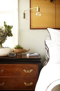 modern bedroom scones