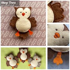 Starry Night Owls: How to make your own felt owl baby mobile Felt Owls, Felt Birds, Felt Animals, Owl Mobile, Craft Projects, Sewing Projects, Owl Crafts, Peacock Crafts, Diy Baby Gifts