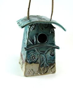 Modern Bird House by Botanic2Ceramic