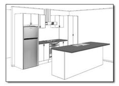 Image result for galley kitchen designs layouts