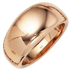 jobo damen ring breit edelstahl rotgold farben beschichtet - Google 搜尋