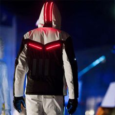 Ski suits with solar-powered lights by Willy Bogner. This would be rad at a rave party. Ski suits with solar-powered lights by Willy Bogner. This would be rad at a rave party. Futuristic Technology, Wearable Technology, Technology Gadgets, Technology Design, Computer Technology, Energy Technology, Technology Logo, Educational Technology, Smart Textiles