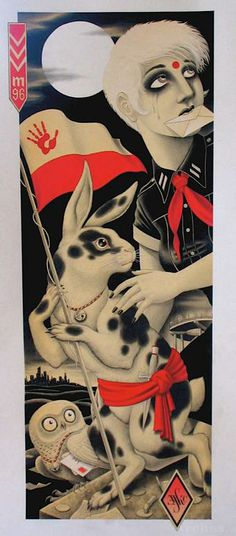 Christopher Conn Askew (There's just something about that rabbit.)