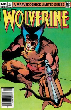 "Wolverine #4 mini-series - Marvel Comics - ""Honor"" by Chris Claremont & Frank Miller - Wolverine has a final showdown with Lord Shingen; Mariko and Wolverine are to marry."
