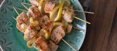 Salmon skewers for barbecues | Zalmspiesjes voor de barbecue | Lekker Tafelen