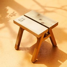 Designed to withstand the elements, the Ishinomaki bench is ideal outdoors, or to give a rustic touch to interiors. Produced by Ishinomaki Lab Japan