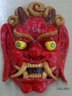 Chinese Demon Mask