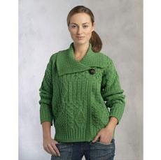 29 best womens irish sweaters images on pinterest irish sweaters super traditional irish cardigan with a modern twist there are truly beautiful combinations of aran knitting patterns used throughout thi fandeluxe Gallery