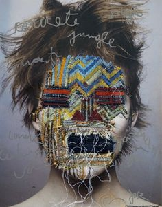 The Art of Embroidery Jose Romussi, experimental artist