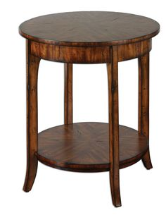 Uttermost 24228 Carmel Lamp Table Accent Furniture