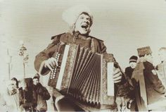 Accordeon player from Russia