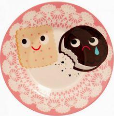 Varietats: Cookies Cup & Saucer by Heidi Kenney