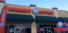 WORKOUT ANYTIME Duval Station, Florida.  24/7 - 365 for our members! Rows of cardio, Matrix equipment, THE reACT Eccentric Core Trainer, Tanning beds,HydroMassage unit, Certified Personal Trainers, showers & lockers, free Wi-fi