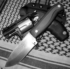 JR Bush-craft'r!! Knife and Kydex Sheath. Made by JRs Survival Bushcraft knives.