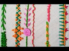 Easy Hand Embroidery Stitches | Episode 06 - YouTube