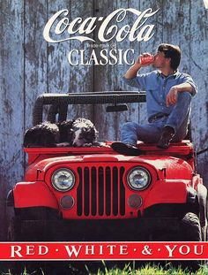 1980'a Coca Cola Ad This is what helped push the fact I wanted a CJ