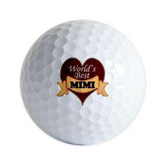 Worlds Best Mimi Golf Balls