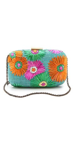 Serpui Marie Flora Embroidered Clutch | SHOPBOP