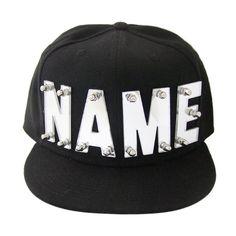 Mirror acrylic letters personalized hats baseball cap Espejo De Acrílico c4096467182f6