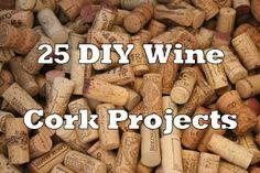 25 DIY Wine Cork Craft Project Ideas!  www.foodnservice.com