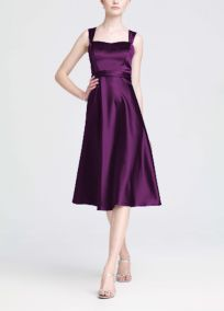 Bridesmaid Dresses by Color by David's Bridal, plum