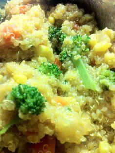 Curry Quinoa with Veggies Recipe