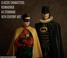 This French photographer reimagined our favorite superheroes as 16th century art and showed everyone how you really break the internet. | Dearest Geeks of Earth #SnowWhite #AliceinWonderland #StarWars #TheAvengers #Marvel #Disney