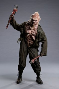 """Anthony's crossbreed of a mutant and a liberata inspired by Syfy Channel's upcoming series and video game, Defiance from Face Off Episode 410 - """"Alien Apocalypse"""""""