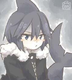 wadanohara and the great blue sea Gray Aesthetic, Aesthetic Anime, Mad Father, Critical Role Fan Art, Rpg Horror Games, Grey Gardens, Witch House, Identity Art, Fanart