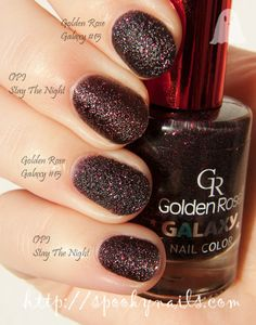 Golden Rose Galaxy #15 vs OPI Stay The Night