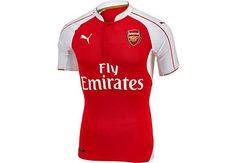 d53a7162b 2015 16 Puma Arsenal Authentic Home Jersey. Hot at SoccerPro Arsenal Jersey