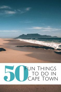 Looking for fun things to do in Cape Town, South Africa? Favorites activities, adventures, culinary delights & cultural highlights from a former local. Romantic Things To Do, Fun Things, Cape Town Holidays, Boulder Beach, Outdoor Cinema, Africa Destinations, Visit Morocco, Beach Trip, Beach Travel