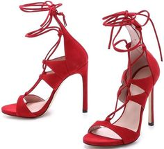 Stuart Weitzman Sandal Red
