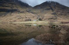 A cottage on a loch