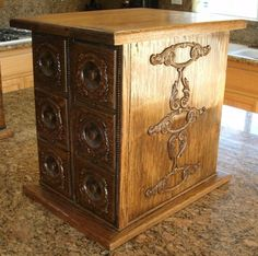Beautiful 6 Antique Sewing Machine Drawers Jewelry Spice Cabinet