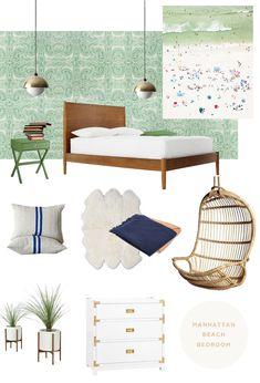 modern beach guest bedroom - smitten studio // sarah sherman samuel