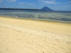 Pulau Bunaken from the Beach of Pulau Siladen