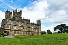 Highclere Castle, United Kingdom: Highclere is a 19th-century castle that serves as the main filming location for the hit-TV show Downton Abbey.